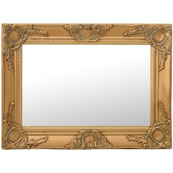 Casa Espelhos VidaXL Espelho 60 x 40 cm Ouro