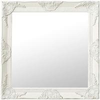 Casa Espelhos VidaXL Espelho 60 x 60 cm Branco