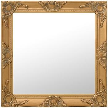 Casa Espelhos VidaXL Espelho 60 x 60 cm Ouro