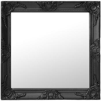 Casa Espelhos VidaXL Espelho 60 x 60 cm Preto