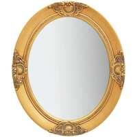 Casa Espelhos VidaXL Espelho 50 x 60 cm Ouro