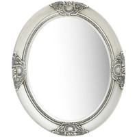 Casa Espelhos VidaXL Espelho 50 x 60 cm Prateado