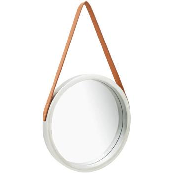 Casa Espelhos VidaXL Espelho Φ 40 cm Prateado