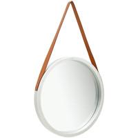 Casa Espelhos VidaXL Espelho Φ 50 cm Prateado