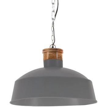 Casa Candeeiros de teto VidaXL Candeeiro suspenso Φ 58 cm Cinzeto