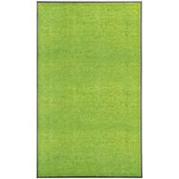 Casa Tapetes VidaXL Tapete de porta 90 x 150 cm Verde