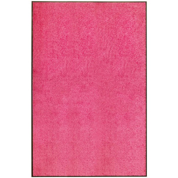 Casa Tapetes VidaXL Tapete de porta 120 x 180 cm Cor-de-rosa