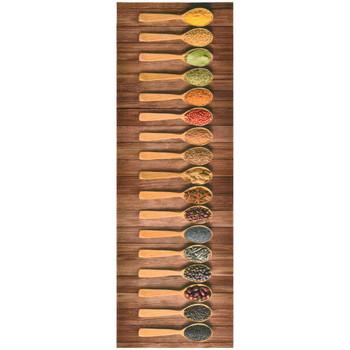 Casa Tapetes VidaXL Tapete de porta 60 x 180 cm Multicolor