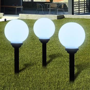Casa Candeeiros de exterior VidaXL Iluminação exterior 20 cm Branco