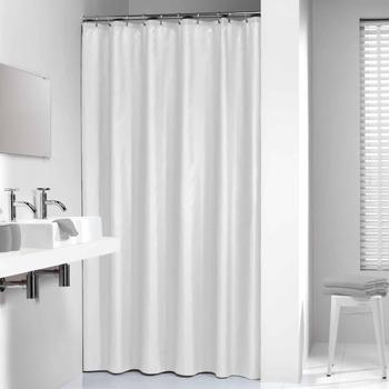 Casa Cortinados Sealskin Cortina para o duche 120 cm Branco