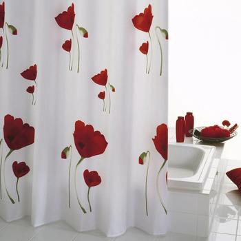 Casa Cortinados Ridder Cortina para o duche Vermelho