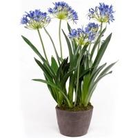 Casa Plantas e Flores Artificiais  Emerald Planta artificial Azul