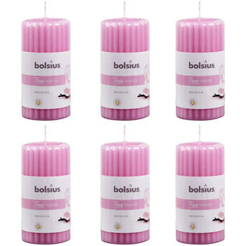 Casa Velas e Aromatizadores Bolsius Vela Cor-de-rosa