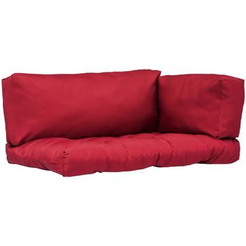 Casa Almofadas VidaXL Almofadão para móveis de paletes Vermelho