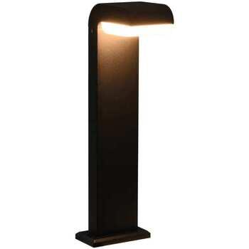 Casa Candeeiros de exterior VidaXL Luz LED 16 x 10 x 50 cm Preto