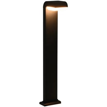 Casa Candeeiros de exterior VidaXL Luz LED 16 x 10 x 80 cm Preto
