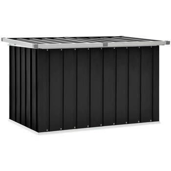 Casa Malas, carrinhos de Arrumação  VidaXL Caixa de arrumação 109 x 67 x 65 cm Antracite