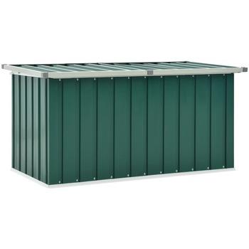 Casa Malas, carrinhos de Arrumação  VidaXL Caixa de arrumação 129 x 67 x 65 cm Verde