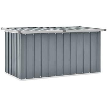 Casa Malas, carrinhos de Arrumação  VidaXL Caixa de arrumação 129 x 67 x 65 cm Cinzeto
