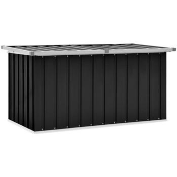 Casa Malas, carrinhos de Arrumação  VidaXL Caixa de arrumação 129 x 67 x 65 cm Antracite