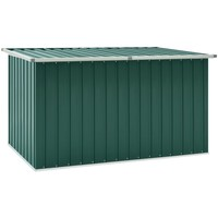 Casa Malas, carrinhos de Arrumação  VidaXL Caixa de arrumação 171 x 99 x 93 cm Verde