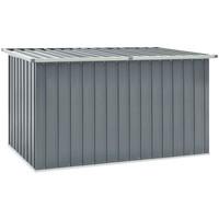 Casa Malas, carrinhos de Arrumação  VidaXL Caixa de arrumação 171 x 99 x 93 cm Cinzeto