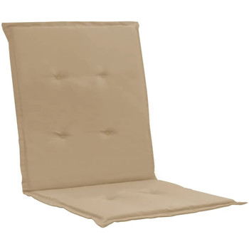 Casa Almofadas VidaXL Almofadão de cadeira 100 x 50 x 4 cm Bege