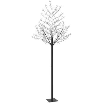 Casa Decorações festivas VidaXL Árvore LED 300 cm Preto