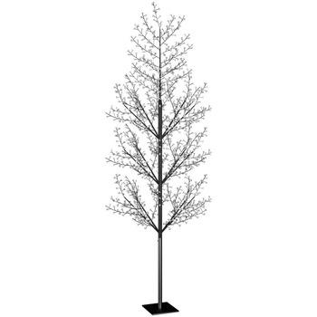 Casa Decorações festivas VidaXL Árvore LED 400 cm Preto