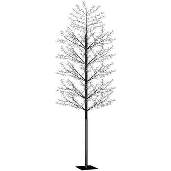 Casa Decorações festivas VidaXL Árvore LED 500 cm Preto