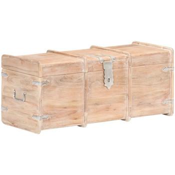 Casa Malas, carrinhos de Arrumação  VidaXL Arca de arrumação 90 x 40 x 40 cm Marrom