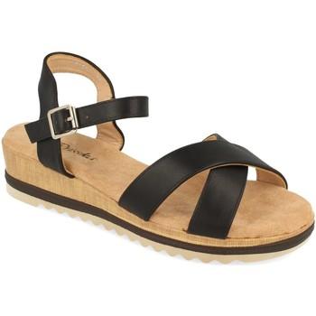 Sapatos Mulher Sandálias Prisska YX8267 Negro