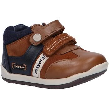 Sapatos Rapaz Botas baixas Mayoral 42156 Marr?n