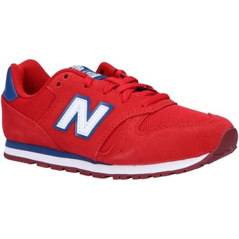Sapatos Criança Multi-desportos New Balance YC373SRW Rojo