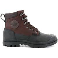 Sapatos Homem Botas baixas Palladium Manufacture Pampa Sport Cuff WP 20 Castanho