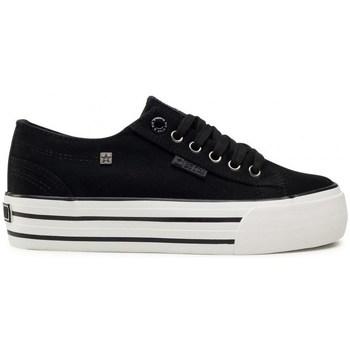 Sapatos Mulher Sapatilhas Big Star HH274056 Branco, Preto
