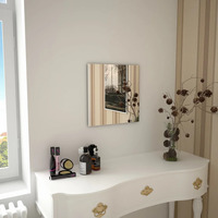 Casa Espelhos VidaXL Espelho de parede 40 x 40 cm Prateado