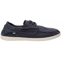 Sapatos Homem Sapato de vela Natural World 55168 azul