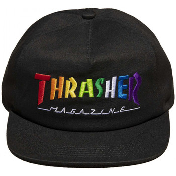 Acessórios Homem Boné Thrasher Cap rainbow mag snapback Preto
