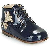 Sapatos Rapariga Sapatilhas de cano-alto Little Mary MEIGE Azul
