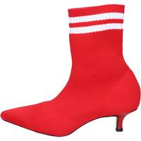 Sapatos Mulher Botins Olga Rubini BJ427 vermelho