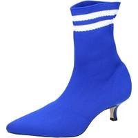 Sapatos Mulher Botins Olga Rubini BJ429 Azul