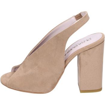 Sapatos Mulher Sandálias Olga Rubini BJ430 Bege