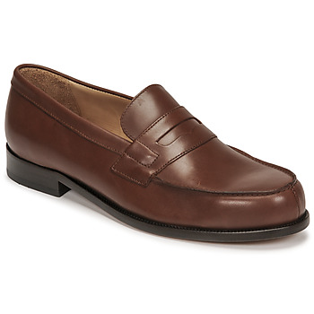 Sapatos Homem Mocassins Pellet Colbert Castanho