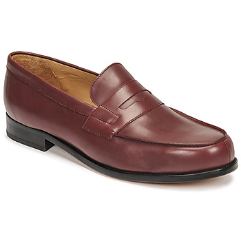 Sapatos Homem Mocassins Christian Pellet Colbert Vermelho