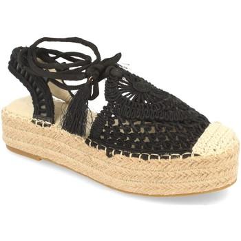 Sapatos Mulher Alpargatas H&d YZ19-58 Negro