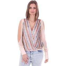 Textil Mulher Tops / Blusas Nenette 26BB-FLORIANA Rosa