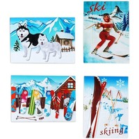 Casa Decorações festivas Signes Grimalt Neve Magnética 04 De Setembro U Multicolor