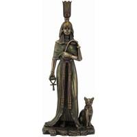 Casa Estatuetas Signes Grimalt Rainha Egípcia-Nefertitis Dorado
