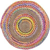 Casa Tapetes Signes Grimalt Tapete Rodada Multicolor